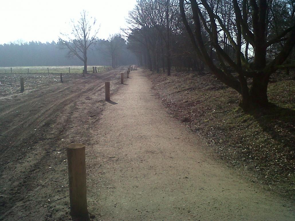 Fiets- en rolstoelpad Landschotse Heide